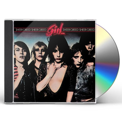 girl SHEER GREED CD
