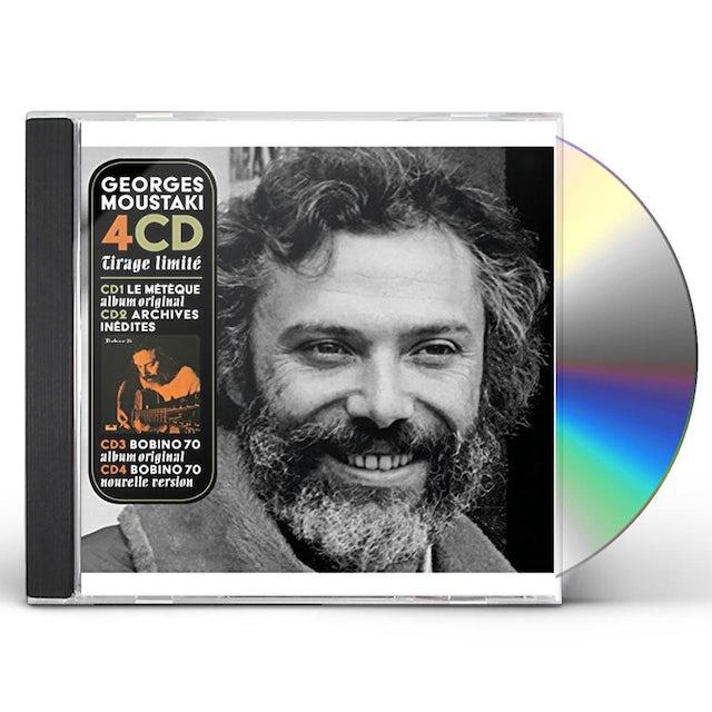 Georges Moustaki COFFRET LE METEQUE / BOBINO 70 CD