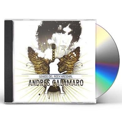 Andres Calamaro GENIOS DEL ROCK NACIONAL CD