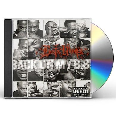 Busta Rhymes BACK ON MY B.S. CD