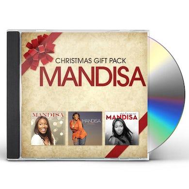 Mandisa 3 CD CHRISTMAS GIFT PACK CD