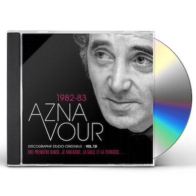 Charles Aznavour DISCOGRAPHIE STUDIO ORIGINALE VOL 19 CD