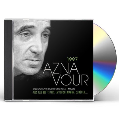 Charles Aznavour DISCOGRAPHIE STUDIO ORIGINALE VOL 25 CD