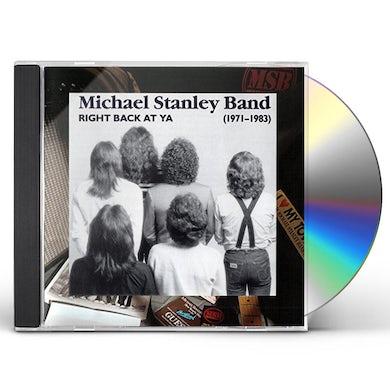 Michael Stanley RIGHT BACK AT YA: 1971-1983 CD