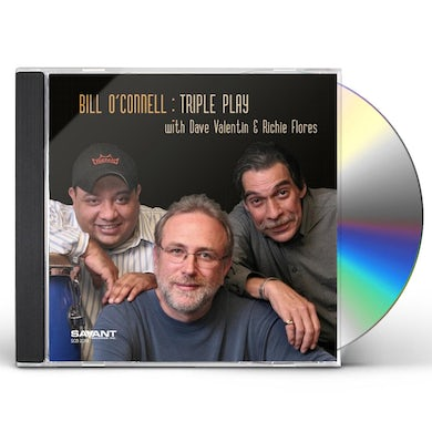 Bill O'Connell TRIPLE PLAY CD