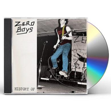 Zero Boys HISTORY OF CD