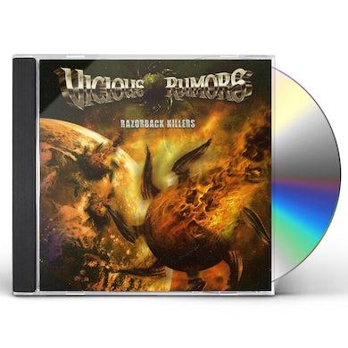 Vicious Rumors RAZORBACK KILLERS CD