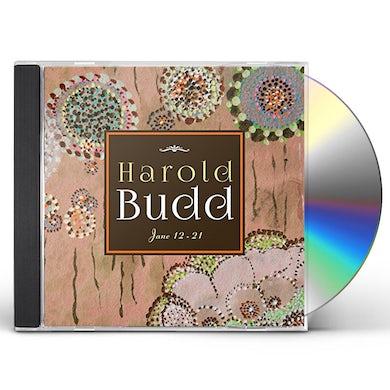 Harold Budd JANE 12-21 CD
