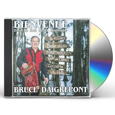 BIENVENUE DANS LE SUD DE LA LOUISIANE CD
