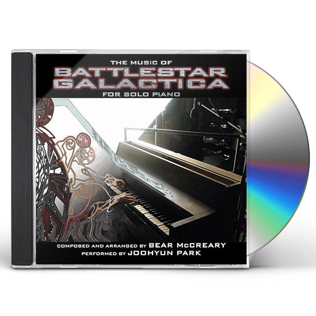 Joohyun Park MUSIC OF BATTLESTAR GALACTICA FOR SOLO PIANO - Original Soundtrack CD