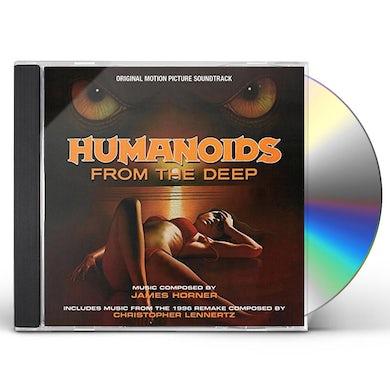 James Horner HUMANOIDS FROM THE DEEP - Original Soundtrack CD