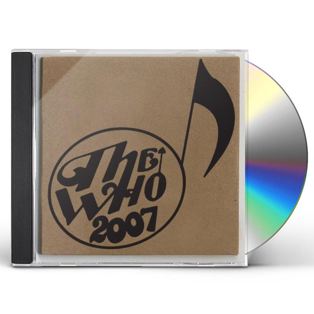 The Who LIVE - MAY 30 07 - ISLE OF MAN UK CD
