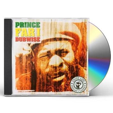 Prince Far I DUBWISE CD
