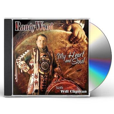 Randy Wood MY HEART & SOUL CD