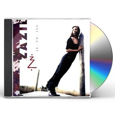 Zazie JE,TU,ILS CD