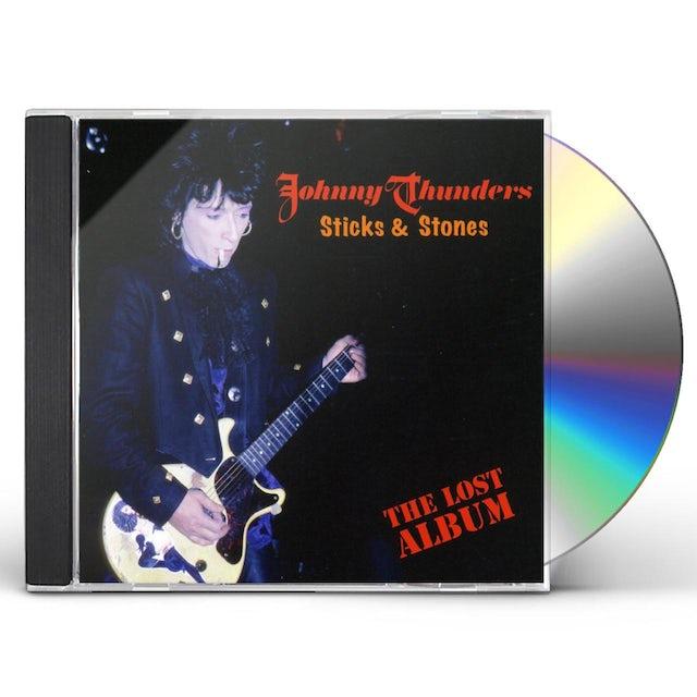 Johnny Thunders STICKS & STONES: LOST ALBUM CD