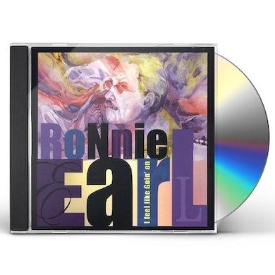 Ronnie Earl I FEEL LIKE GOIN' ON CD