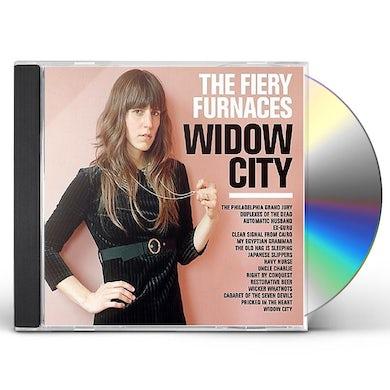 Fiery Furnaces WIDOW CITY CD