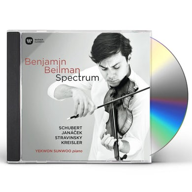 Benjamin Beilman SPECTRUM CD