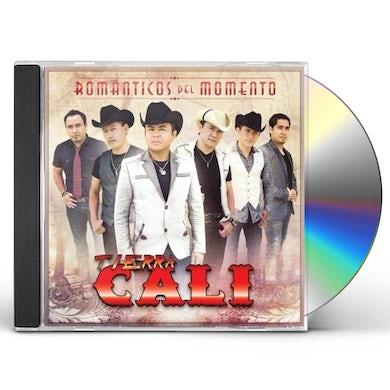 Tierra Cali ROMANTICOS DEL MOMENTO CD