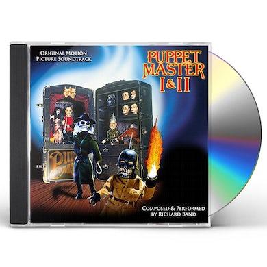 Richard Band PUPPET MASTER I & II SOUNDTRACK CD