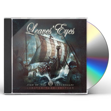 Leaves' Eyes SIGN OF THE DRAGONHEAD (TOUR EDITION) CD