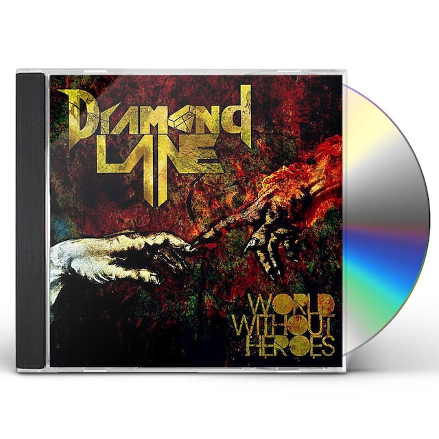Diamond Lane WORLD WITHOUT HEROES CD