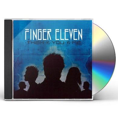 Finger Eleven THEM VS YOU VS ME CD