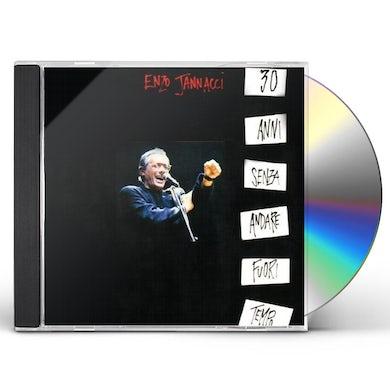 Enzo Jannacci 30 ANNI SENZA ANDARE FUORI TEMPO CD