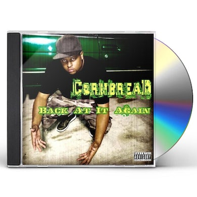 Cornbread BACK AT IT AGAIN CD