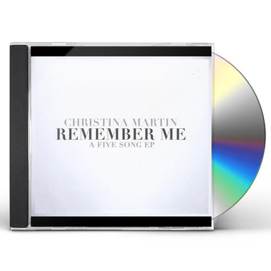 Christina Martin REMEMBER ME CD