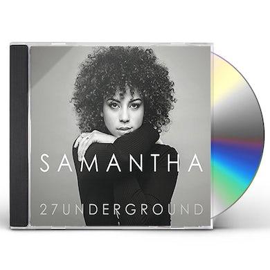 Samantha 27UNDERGROUND CD
