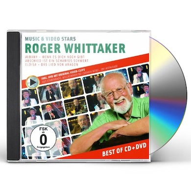 Roger Whittaker MUSIC & VIDEO STARS CD