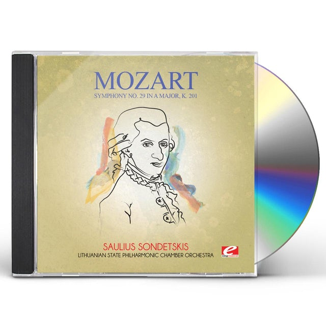 Mozart SYMPHONY NO. 29 IN A MAJOR K. 201 CD