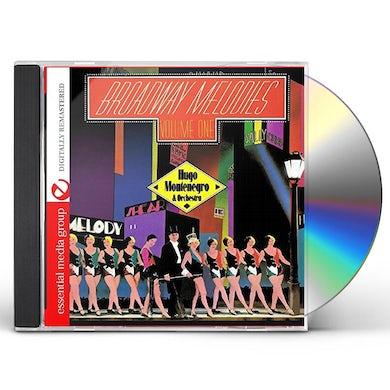Hugo Montenegro BROADWAY MELODIES 1 CD