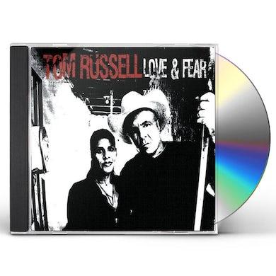 Tom Russell LOVE & FEAR CD