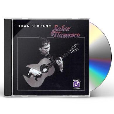 Juan Serrano SABOR FLAMENCO CD