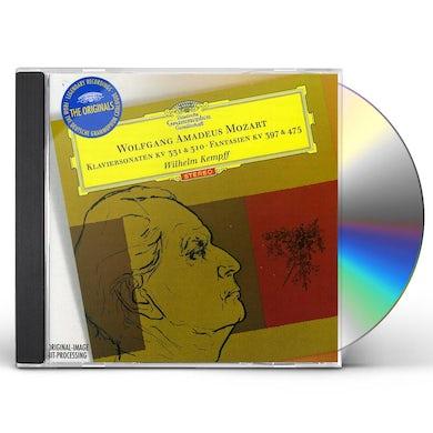 Wilhelm Kempff MOZART: PIANO SONATAS KV310 KV331 FANTASIAS KV397 CD