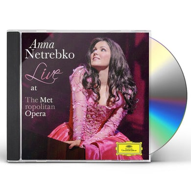 Anna Netrebko LIVE AT THE MET CD