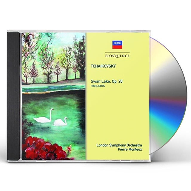 Pierre Monteux TCHAIKOVSKY: SWAN LAKE HIGHLIGHTS CD