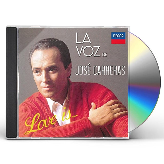 Jose Carreras LOVE IS LA VOZ CD
