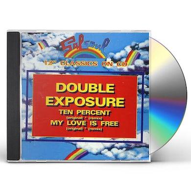 Double Exposure TEN PERCENT /MY LOVE IS FREE CD