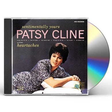 Patsy Cline SENTIMENTALLY YOURS CD