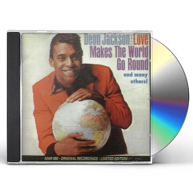 Deon Jackson BEST OF / LOVE MAKES THE WORLD GO ROUND 23 CUTS CD