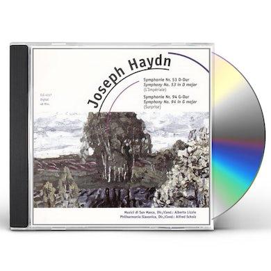 Haydn SYMPHONY 53 & 54 CD