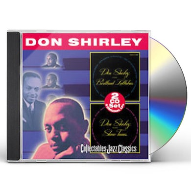 Don Shirley PLAYS BIRDLAND LULLABIES / PLAYS SHOW TUNES CD