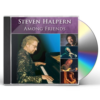 Steven Halpern AMONG FRIENDS CD