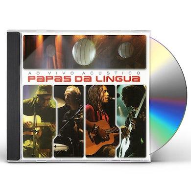 Papas da lingua AO VIVO ACSTICO CD