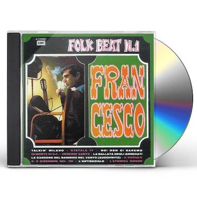 Francesco Guccini FOLK BEAT 1 CD
