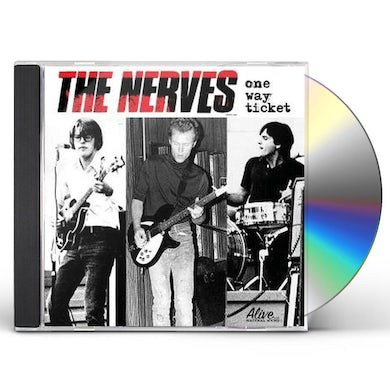 Nerves ONE WAY TICKET CD